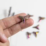 Titanium Shark Tooth - Small Moody Pink Shark Tooth (RK94B15-10)