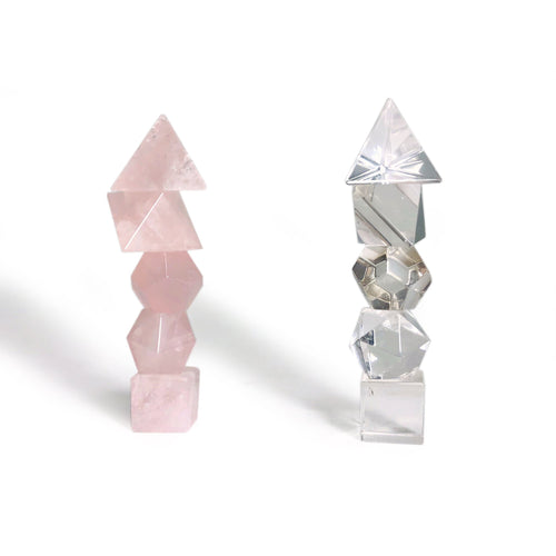 Gemstone Geometrical Shapes - SET (BR-72)