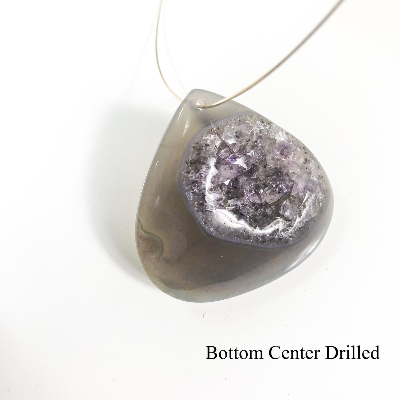 Agate Druzy Drops Natural Stone Drops Crystal Vibes (RK145)