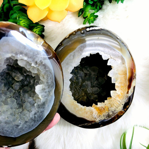 Agate Geode Box - Polished (WRHS2-S12-42)