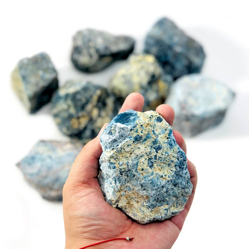 Blue Apatite Rough Stone (RK1100B13)