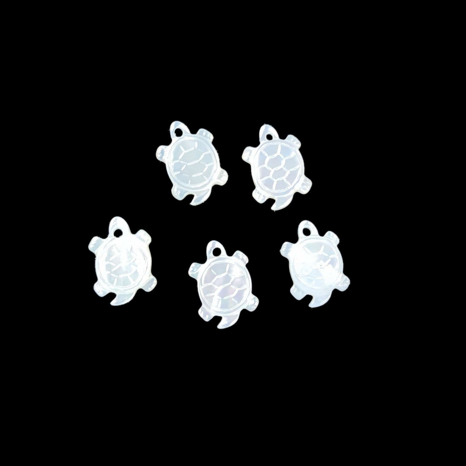 Mother of Pearl Drilled Beads - 3 Shapes to Choose From (RK137B7)