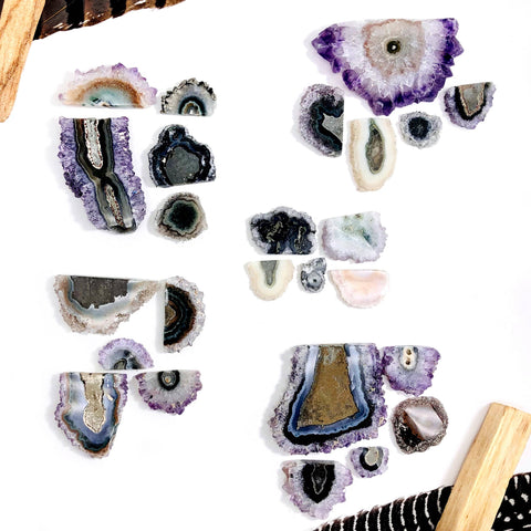 Raw Amethyst Points by the pound OB7B2