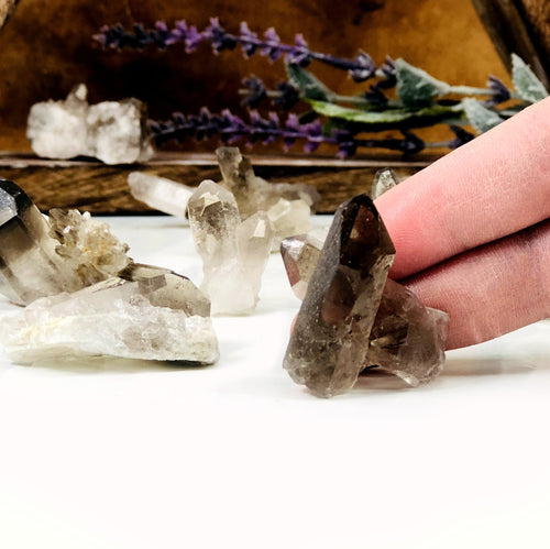 Smokey Quartz Raw Points (RK174B7)