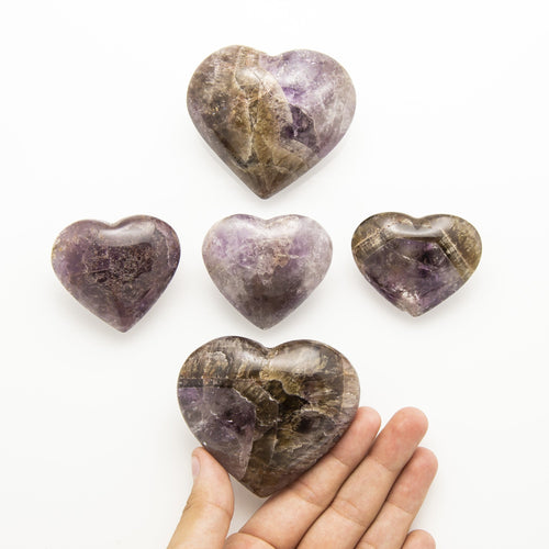 Heart Seven Minerals in One Super Stone  (HW5)