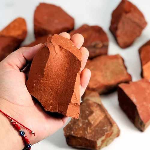 Red Jasper Rough Stone (RK1100B23)