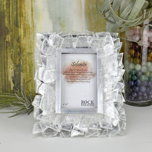 Stone Picture Frame - Home Decor - Crystal Frames