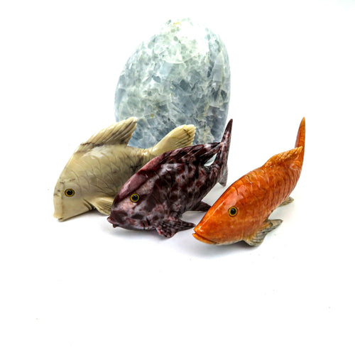 Crystal Fish Dolomite, Lodolite , Orange calcite, Creme dolomite ( OF2-S11-01)