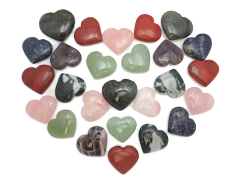 Heart Shaped Stone - Chakra - Metaphysical (RK701-702)