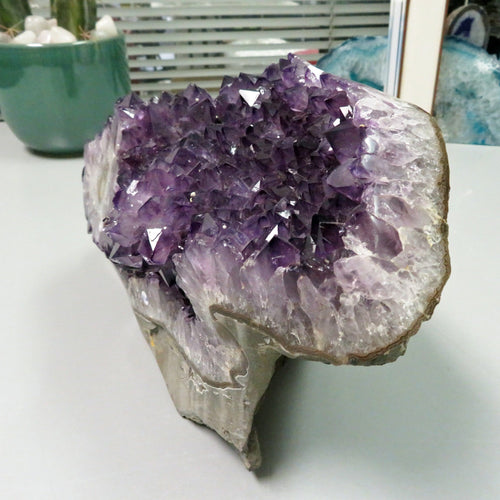 Amethyst Formation High Grade with Stalactite (OOAK-RK10)