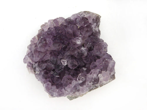 Raw Amethyst Cluster Stone - Home Decor Piece - 1-2 lbs - Beautiful Shades of Purple  (RK404-06)