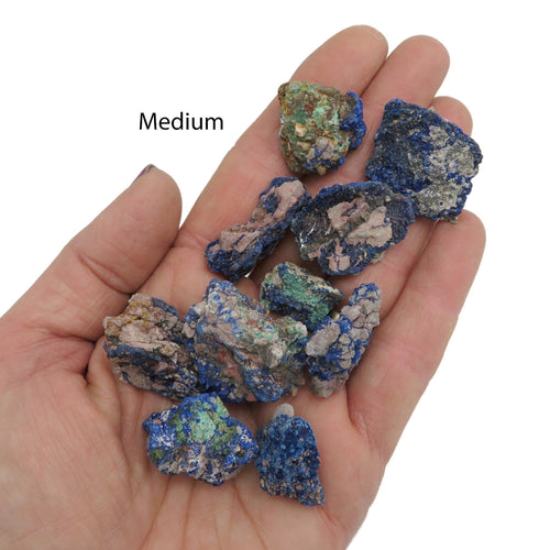 Azurite Stone - Raw Beautiful Blues - Spiritual  (RK403B3)