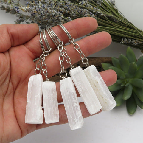 Crystal Quartz Worry Stone Slab - Thumb Stone - Palm Stone - Metaphysical - Chakra - Wire Wrap (BR-40))