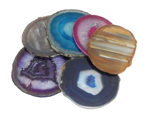 Agate Slices - Agate Slice Assorted - Agate Slices #7 - Gorgeous Display (AGBS)
