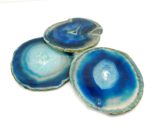 Agate Slices - Blue Agate Slice - Agate Slices #3 (AGBS)