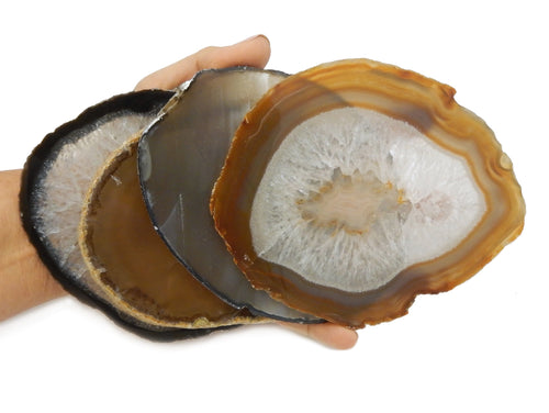 Agate Slices - Natural Agate Slice - Agate Slices #6 - Beautiful Home Decor (AGBS)