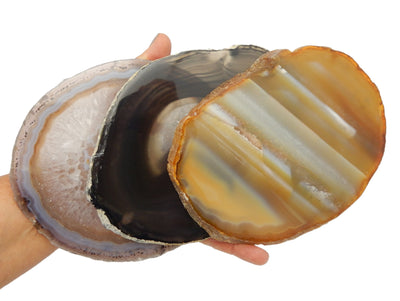 Agate Slices - Natural Agate Slice - Agate Slices #7 - Gorgeous Display (AGBS)