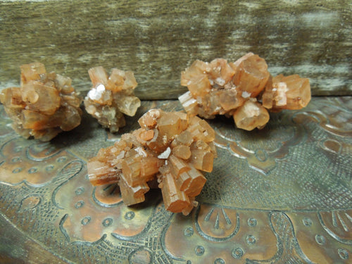 Aragonite - Large Aragonite Assorted Pieces - 1-10 Pieces - Beautiful Raw Freeform Argonite Stones--  (RK176B4)