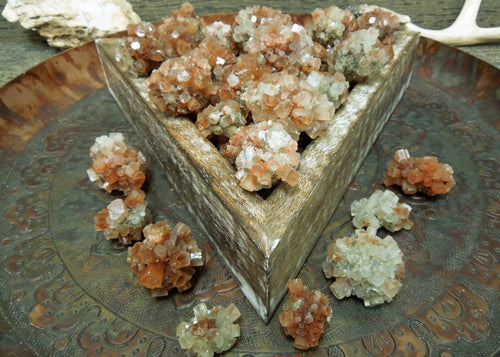 Aragonite - Multi Colored Aragonite Clusters - Amazing Raw Argonite Stones -  (RK176B2)