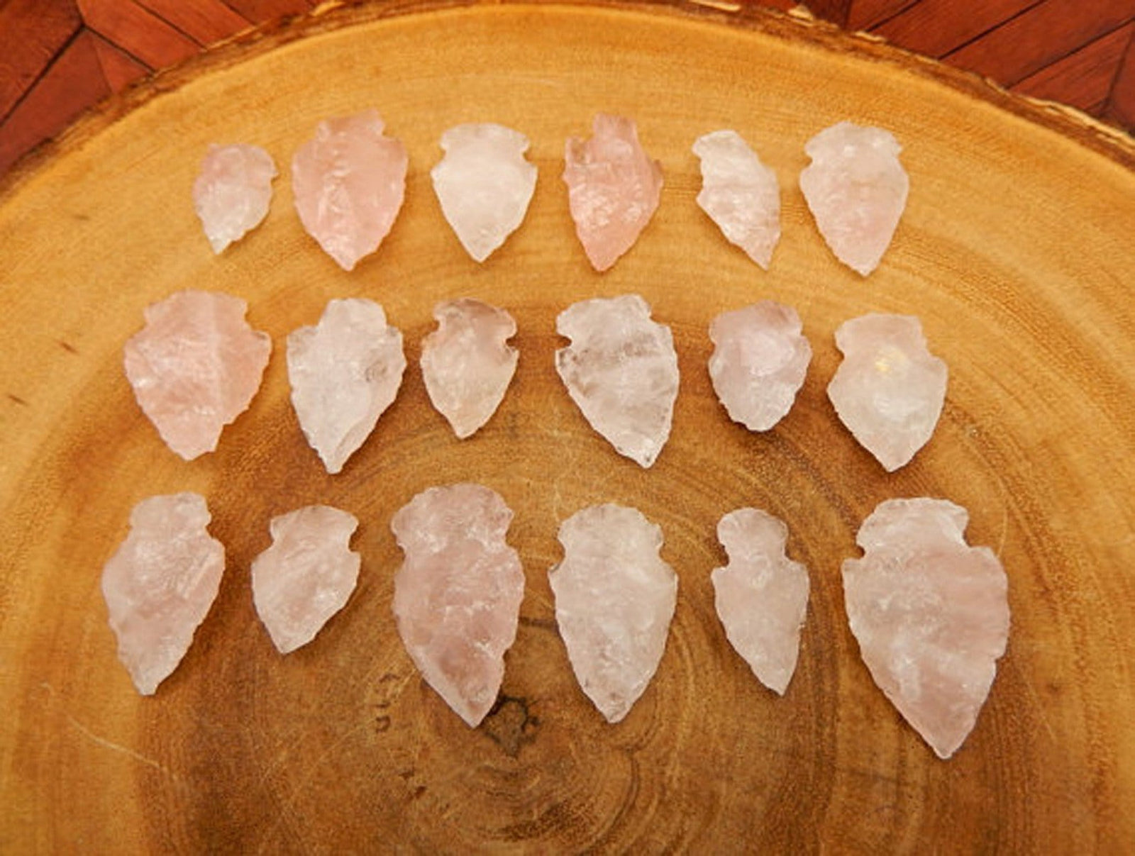 Arrowhead - Rose Quartz Arrowhead RK164b1