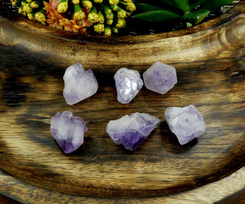 Beads - Amethyst Point Top Side Drilled Bead - Bag Of 1, 5 Or 10 Pieces - (RK30B8)
