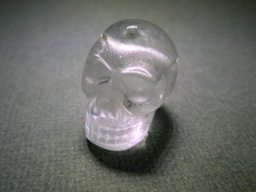 Beads - Skull Bead--Crystal Quartz Skull Bead