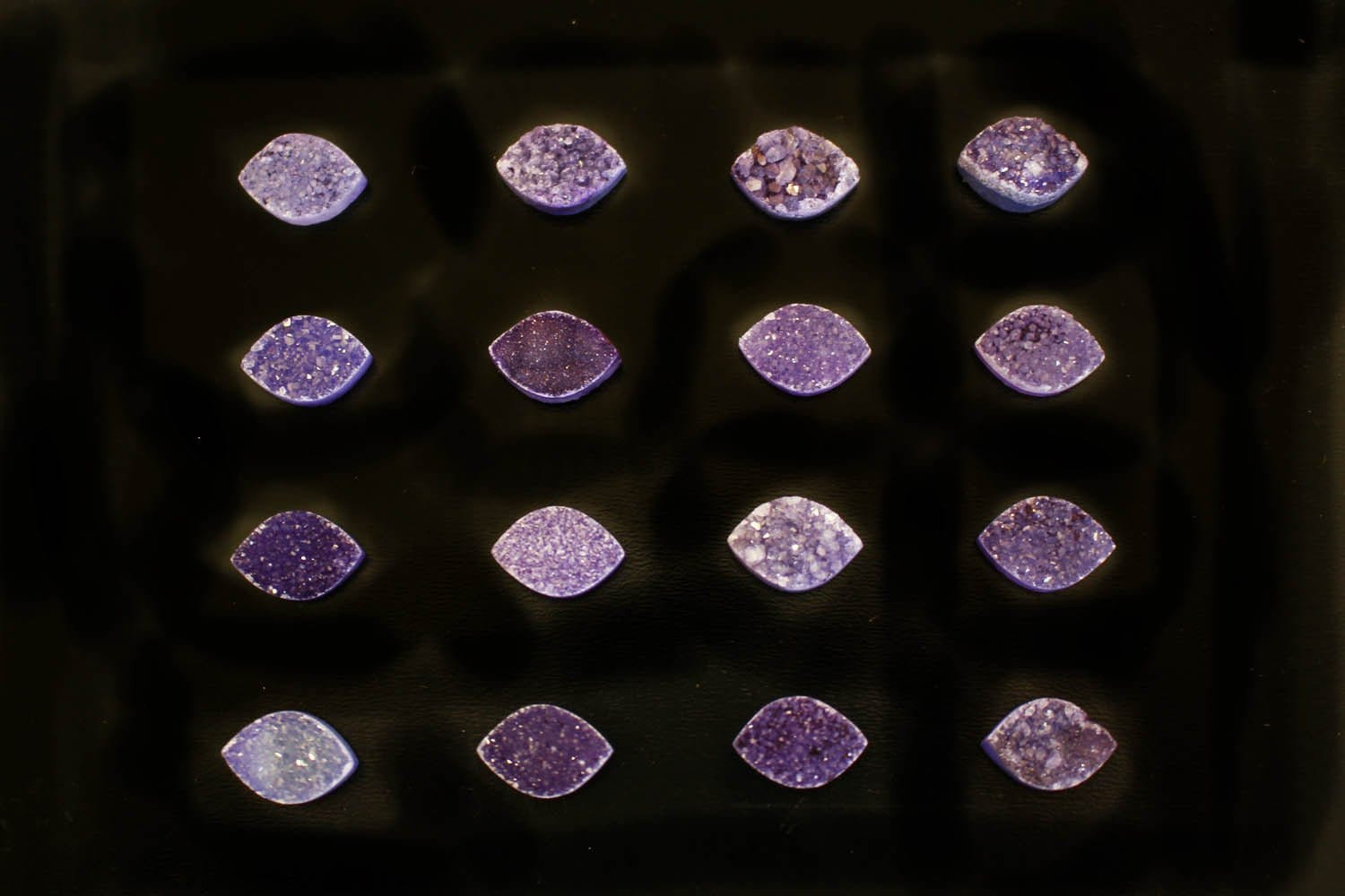 Cabochon - Purple Marquise Druzy Cabochon - Colorful Druzy Stone - Craft Supply - Perfect For Jewelry Making