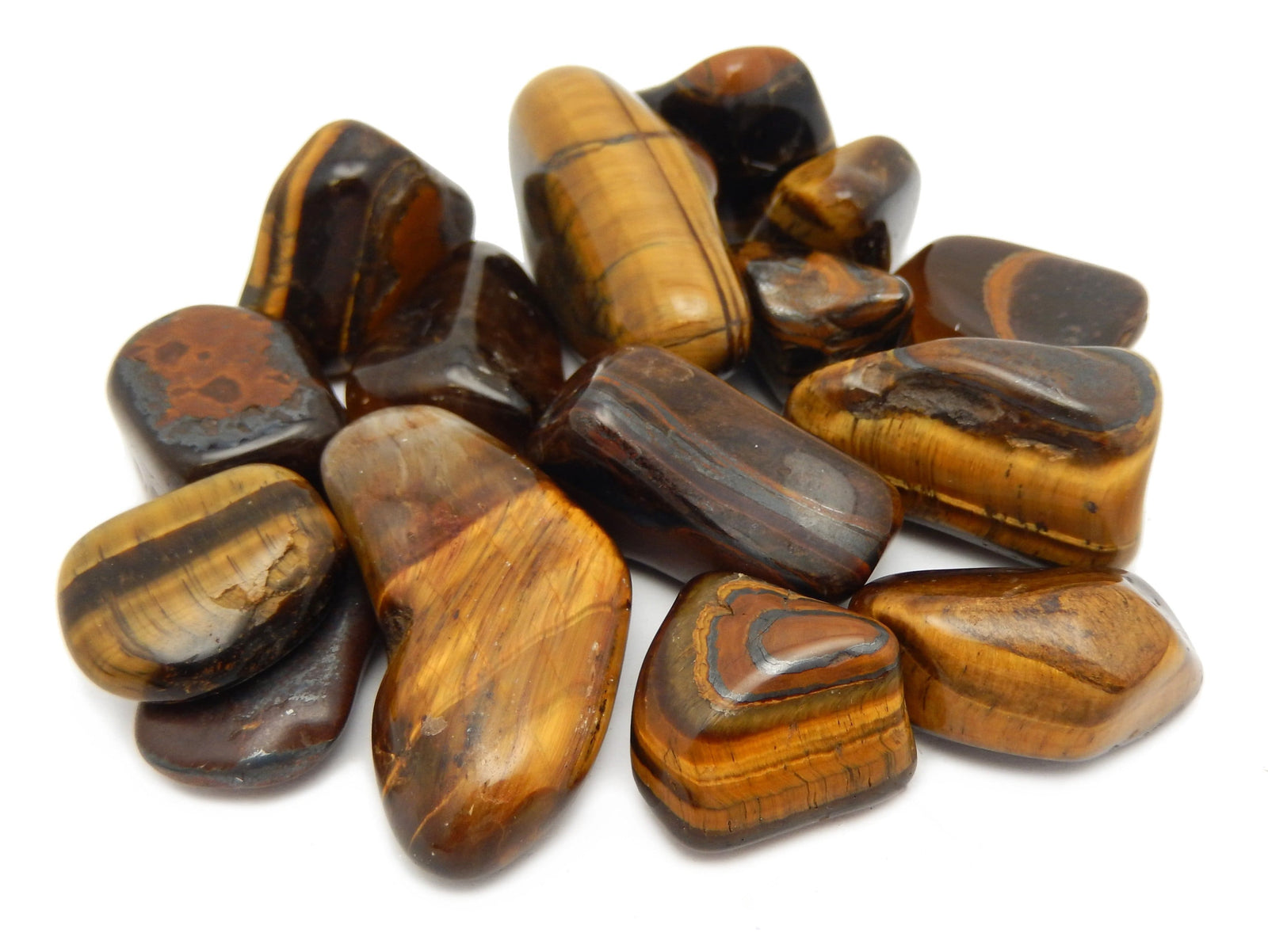 Cabochons - Tiger Eye Stone - Mixed Shapes Cabochons - Jewelry Making - Jewelry Craft Supplies - Decor - Choose 1,3,5, 10 Stones (TS-07)
