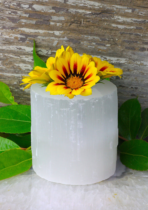 Candle Holders - Selenite Candle Holder (CHS2-01)