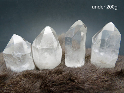Crystal Cluster - Crystal Quartz Point - Raw Stone - Paper Weight - Natural Formation - Feng Shui - Chakra Healing - YOU CHOOSE SIZE (RK405)