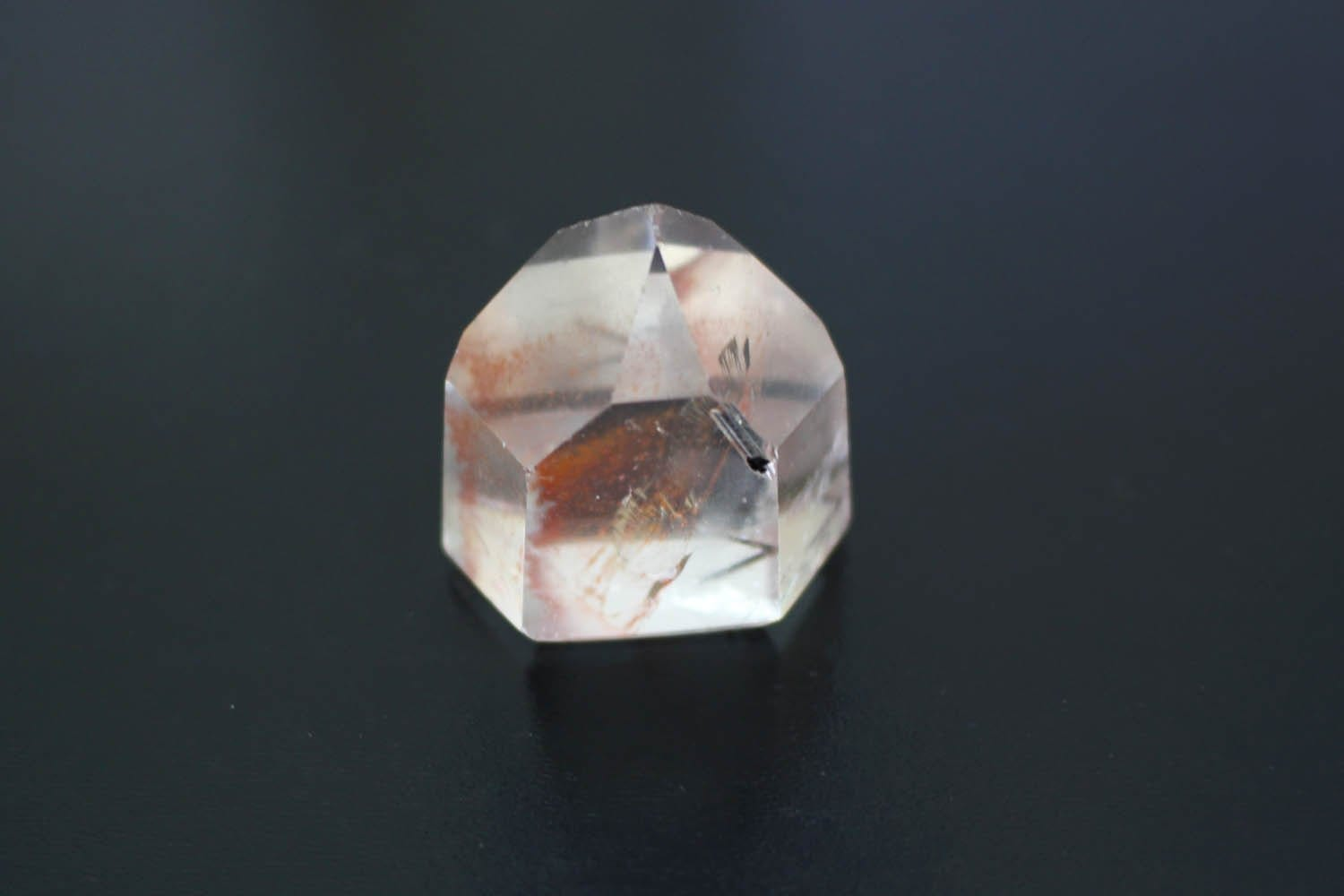 Crystal Points - Crystal Polished Point With Inclusions - Wire Wrapping - Spiritual Gift - Jewelry Supply - Boho Style - (RK91B16-02)