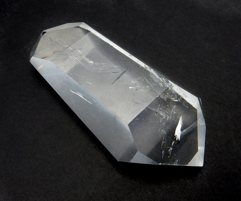 Crystal Quartz Double Terminated Point Stone Generator Power Crystal  Natural Crystal From Brazil High Quality (OB8B11)