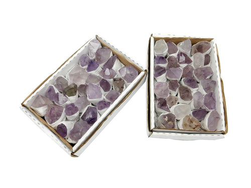 Flat Boxes - Amethyst Points Full Box - High Quality Amethyst Points  (RK140TS)