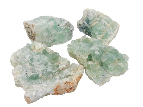 Green Fluorite - Green Fluorite By Size - Chakra - Pick Your Size - Wholesale Stones (RK130)