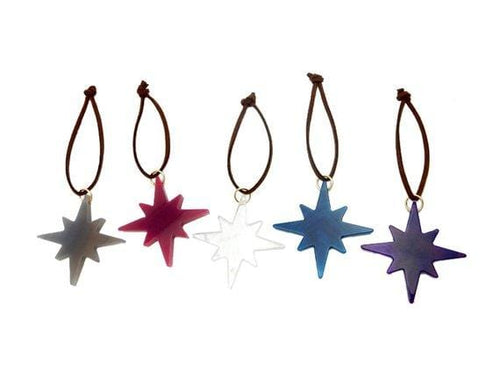 Agate Star Gemstone Christmas Ornaments - Home Decorations for Holidays - Christmas Tree Ornaments