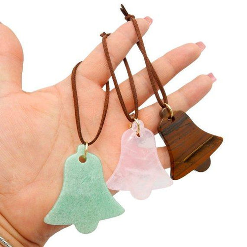 Bell Gemstone Christmas Ornaments - Home Decorations for Holidays - Christmas Tree Ornaments