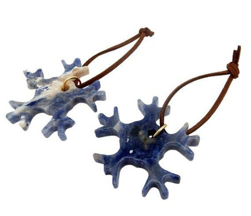 Snowflake Gemstone Christmas Ornaments