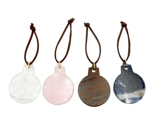 Gemstone Ball Christmas Ornaments - Home Decorations for Holidays - Christmas Tree Ornaments