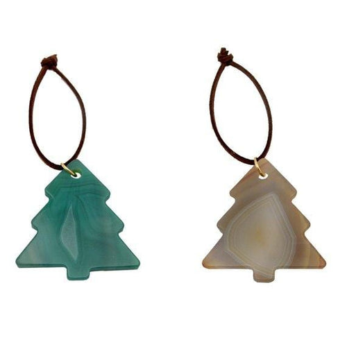 Agate Tree Christmas Ornaments - Home Decorations for Holidays - Christmas Tree Ornaments