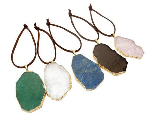 Freeform Gold Gemstone Christmas Ornaments - Home Decorations for Holidays - Christmas Tree Ornaments