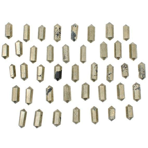Pyrite Double Terminated Point - Petite - You Choose Quanity (RK112-89)