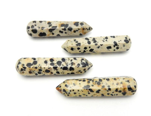 Jasper - Dalmatian Jasper Massage Wand Points