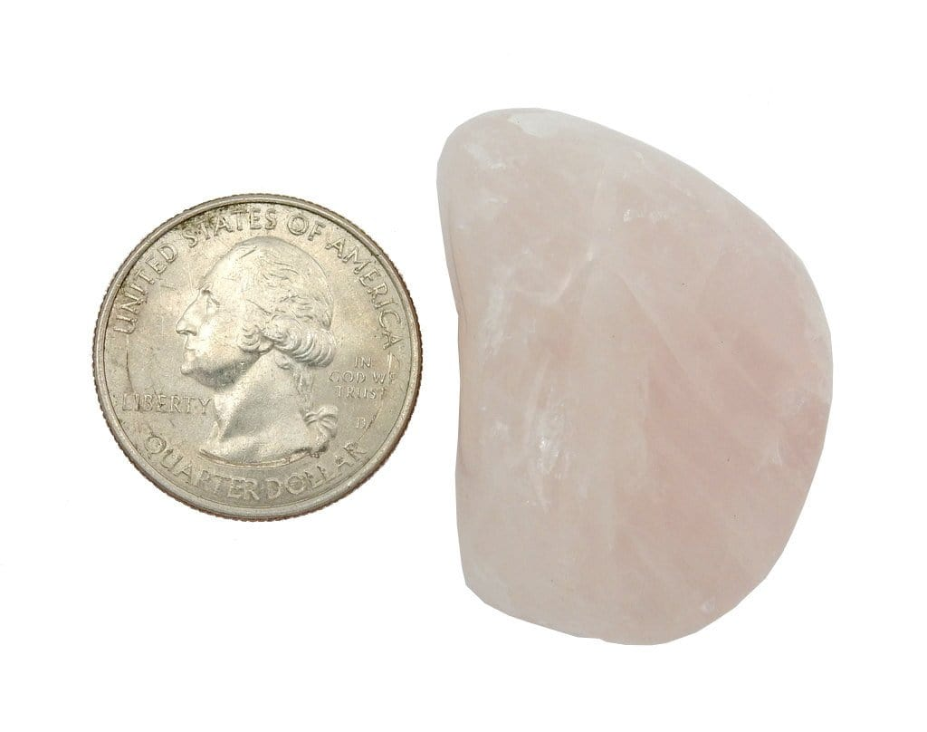 Large Tumbled Stone - Rose Quartz - Tumbled Rose Quartz - (RK23B6)