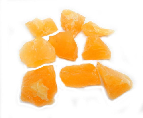 Orange Calcite - Choose Your Quantity - Natural Stones - Chakra Balancing - Reiki - Wire Wrapping - Crystal Grids - (RK401B1)