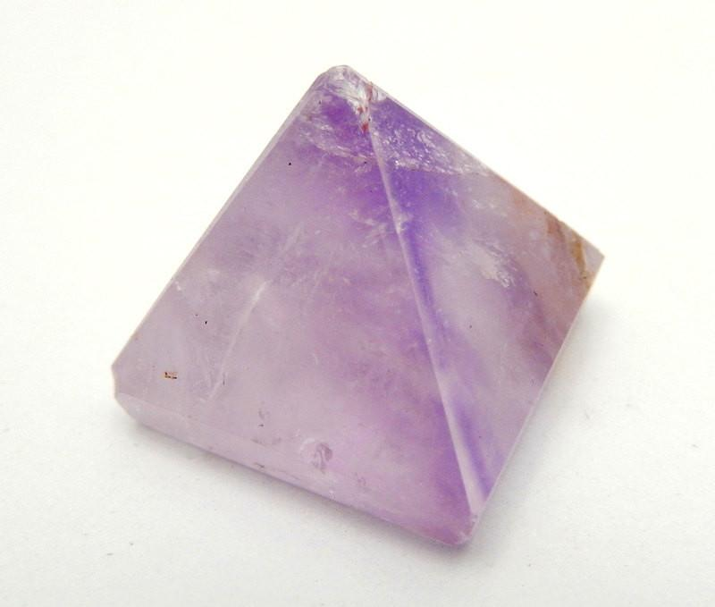 Pyramids - Amethyst Pyramid - Gemstone Pyramids By Piece High Quality Stones From Brazil  (RK19B4)
