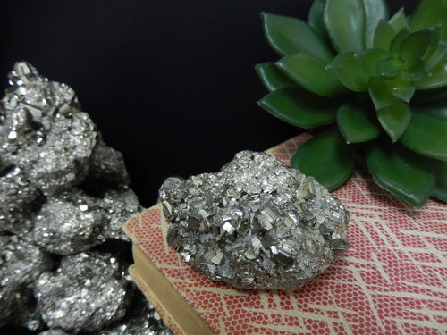 Pyrite - Pyrite Chunk - Each Stone Under 1/2lb - Home Decor Jewelry Making Reiki  (RK402B2)