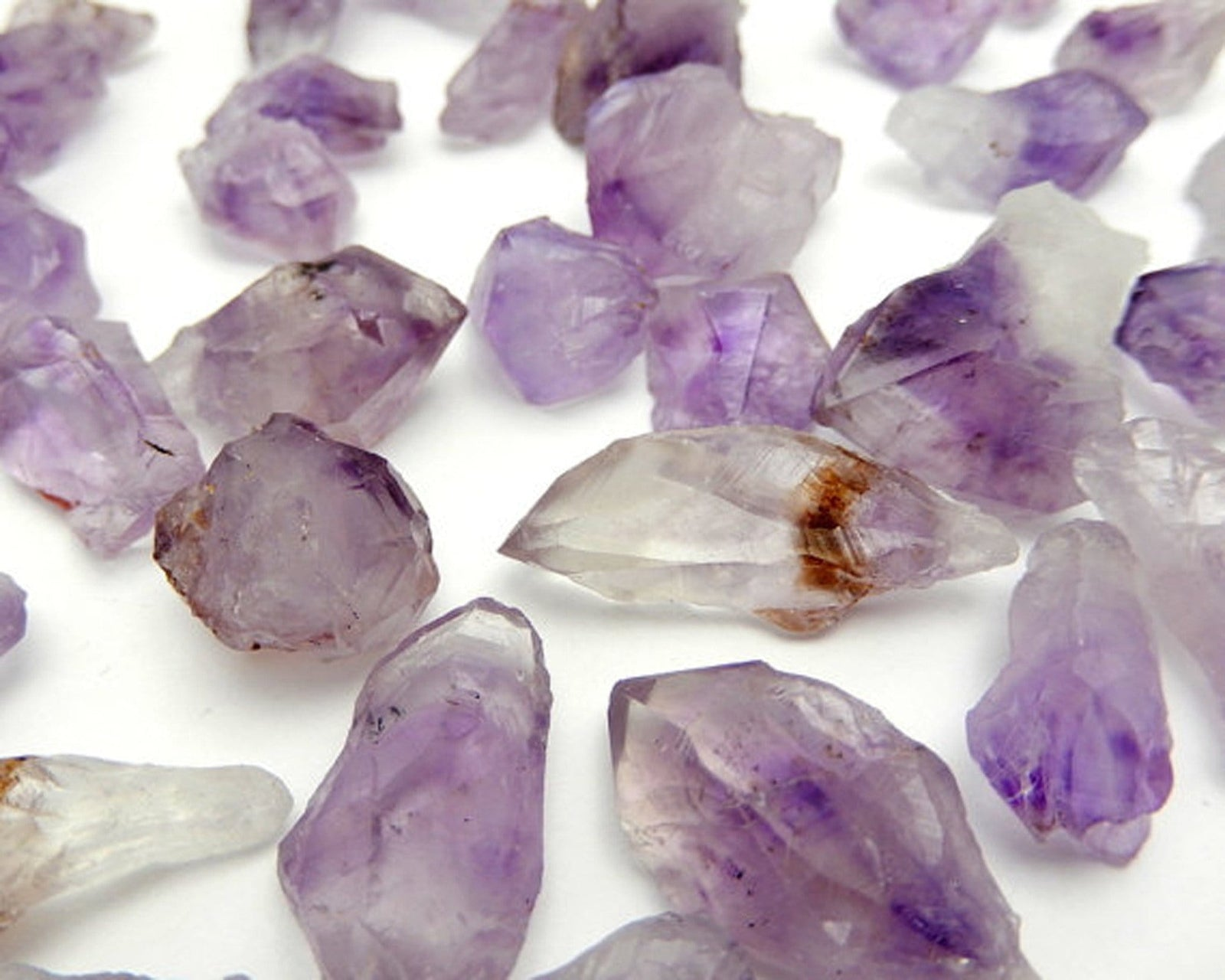 Raw Points - Raw Amethyst Points By The Pound OB7B2