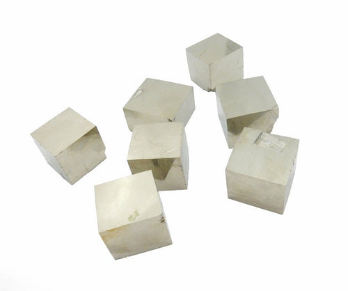 Rough Stones - Pyrite Cube  - Natural Stones - Spirituality - Jewelry And Craft Supplies - Wire-wrapping (RK400B12)