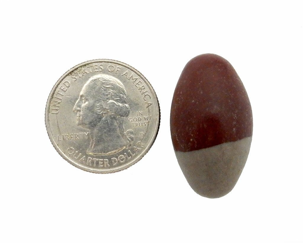 Tumbled Stones - Lingam Stone - Chakra - Wire Wrapping - Lingham Lingum - Choose 1, 5, 10 Stones (TS-70)
