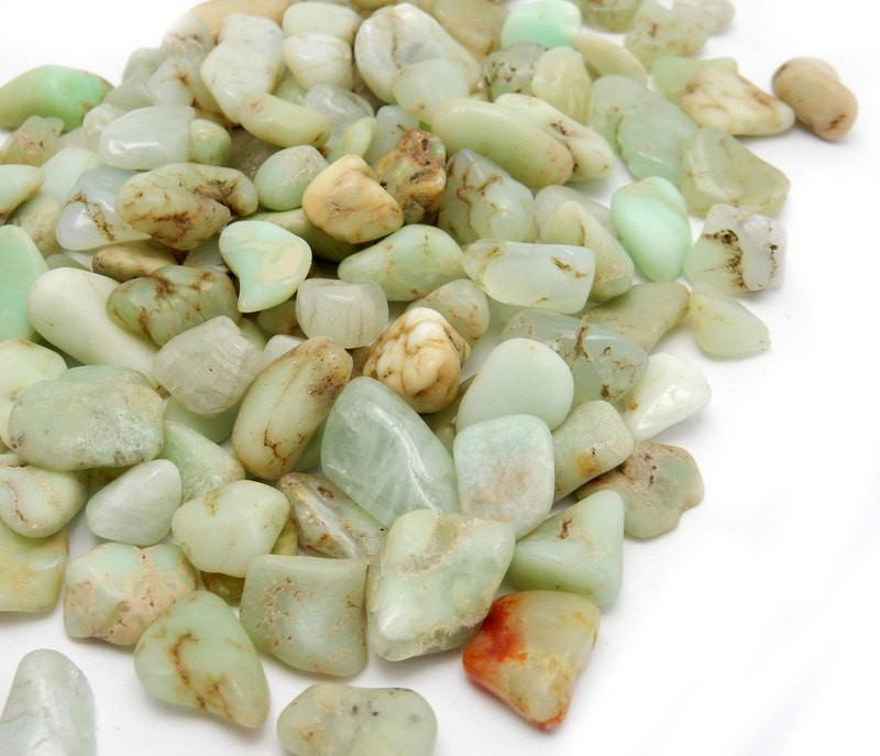 Tumbled Stones - Tumbled Petite Chrysoprase - Wire Wrapping - Collecting - Chakra - Tumbled Stone - Choose Your Weight(TS-53)